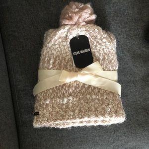 STEVE MADDEN new winter women hat-scarf set